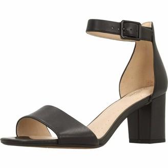Clarks Deva Mae Womens Ankle-Strap Ankle Strap Heels