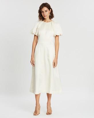 Rebecca Vallance Aimee Short Sleeve Midi Dress