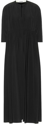 Jil Sander Empire-waist midi dress