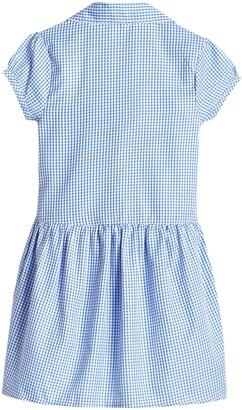 Very Girls 2 Pack Drop Waist Gingham School Dress - Blue