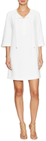 Trina Turk Bertina Tie Neck Shift Dress
