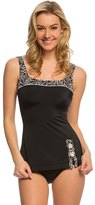 Fit 4 U Fit4U Swimwear Cabana Retro Sheath Swim Dress 8139935