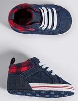 Marks and Spencer Baby Denim Pram Shoes