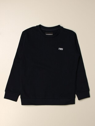 Emporio Armani Basic Sweatshirt With Logo