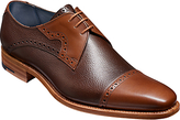 Barkers Bakers Apollo Derby Leather Brogues, Brown