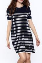 Yumi Nautical Sweater Dress