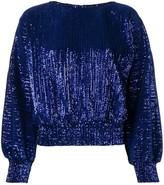 RtA sequin embellished blouse