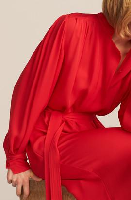 Rebecca Taylor Longsleeve Georgette Dress
