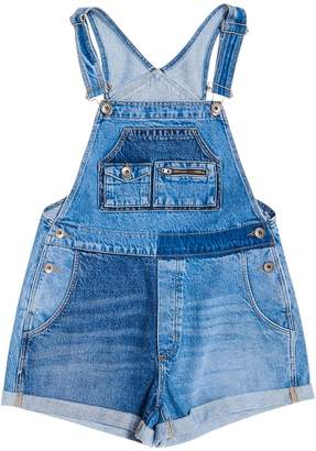Superdry Denim Short Dungarees