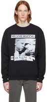 Enfants Riches Deprimes Black mesmerizing Dogma Crewneck Sweatshirt