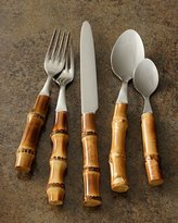 Juliska Five-Piece Bamboo Place Setting, Natural