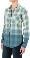 Columbia Trail Creek Flannel Shirt - Long Sleeve (For Women)