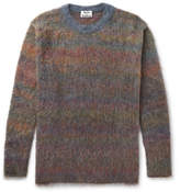 Acne Studios Nikos Oversized Mélange Knitted Sweater