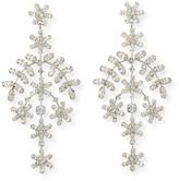 Jennifer Behr Jacqueline Crystal Vine Earrings