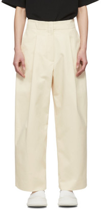 Studio Nicholson Off-White Dordoni Volume Trousers