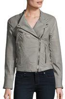 Blank NYC Solid Moto Jacket