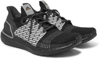 adidas Consortium + Neighborhood Ultraboost 19 Rubber-Trimmed Primeknit Sneakers