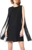 Gracia Pleated Chiffon Dress