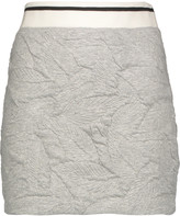 Rag & Bone Textured stretch-jersey mini skirt