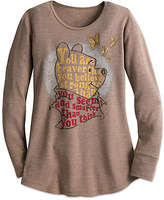 Disney Winnie the Pooh Long Sleeve Thermal Tee for Women