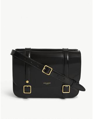 Saint Laurent Patent leather satchel