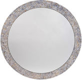 Bradburn Gallery Home Sophie Mother-of-Pearl Wall Mirror, Blue