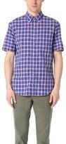 Gitman Brothers Short Sleeve Japan Blues Madras Shirt