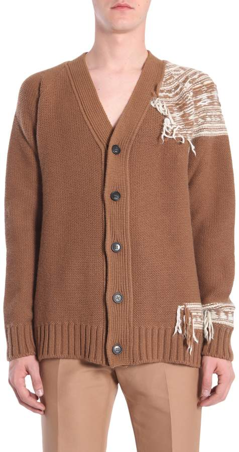 N°21 V Collar Cardigan