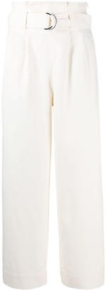 Ganni Tailored Belted Trousers