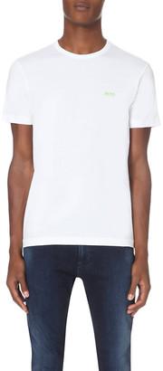 BOSS GREEN Hugo Boss Branded cotton-jersey t-shirt