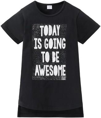 Schiesser Girls' Fashion Blog T-Shirt Rundhals