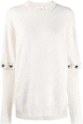 Chloé Removable Sleeve Sweater