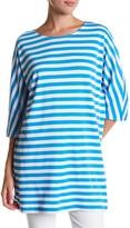 Joan Vass Stripe Tunic