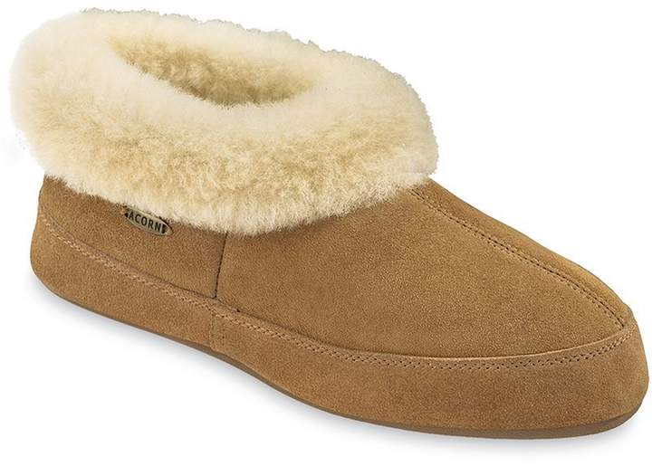 Acorn Women's Oh Ewe II Slippers - 10781, Walnut, Size 7
