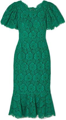 Dolce & Gabbana Corded Lace Dress