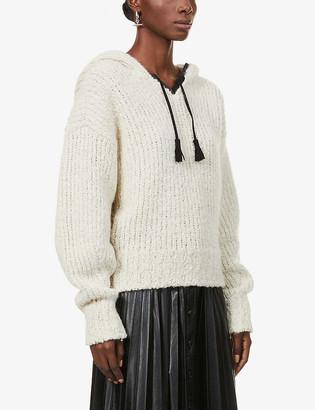 Isabel Marant Eleana hooded knitted jumper