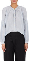 Ulla Johnson Women's Tija Striped Cotton Blouse