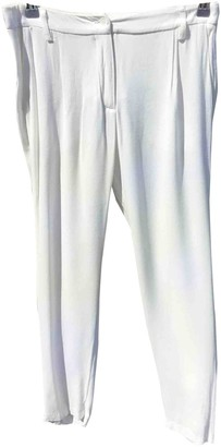 American Vintage White Trousers for Women