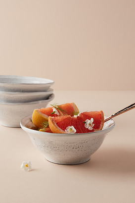 Anthropologie Glenna Cereal Bowls, Set of 4 By in White Size S/4 cereal