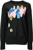 Tsumori Chisato embroidered knitted top