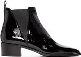 Acne Studios Black Patent Jensen Boots