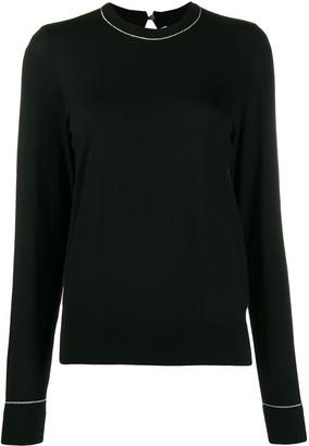 Comme des Garcons Key-Hole Back Knitted Top
