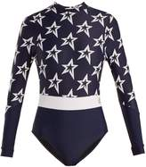 PERFECT MOMENT Spring Star-print paddle suit