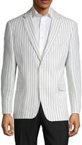 Tommy Hilfiger Wide Striped Linen Jacket