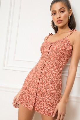 superdown Codie Tie Strap Dress