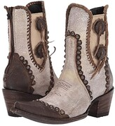 Old Gringo Double D Ranchwear By Double D Ranchwear by Stockyards (Crackled White) Cowboy Boots