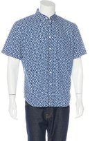 Jack Spade Floral Print Short Sleeve Shirt