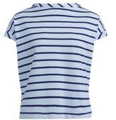 Semi-Couture T-shirt Semicouture Chad In Cotone A Righe