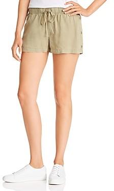 Bella Dahl Side-Button Drawstring Shorts