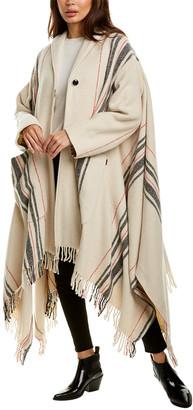 Woolrich Wool-Blend Blanket Coat